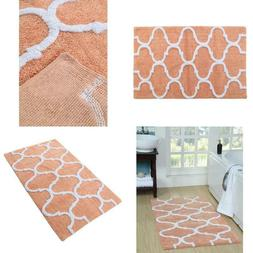 50 In. X 30 In. Bath Rug 100% Cotton High Water Absorbance C