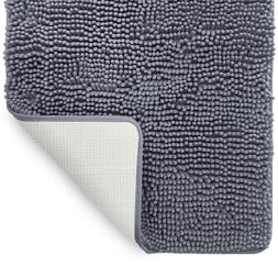 LuxUrux Bath mat-Extra-Soft Plush, Bath Shower Bathroom Rug,