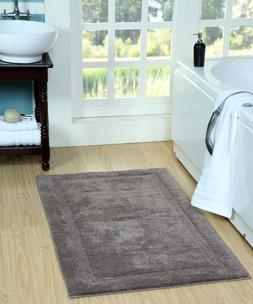 Saffron Fabs Bath Rug 100% Soft Cotton, Size 50x30 Inch, Lat
