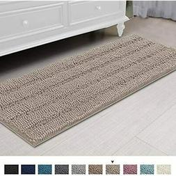 Bath Rugs Ultra Thick And Soft Texture Mat Chenille Plush St