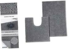 Bathroom Rugs and Mats Sets Non Slip Bath Mat Set for Floors