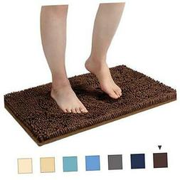 Bathroom Rugs Non Slip Small Bath Mat for Floors Washable 24