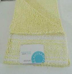 "Martha Stewart Collection Cotton Reversible Bath Rug, 17"" x"