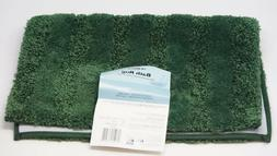Mohawk Home Luster Stripe Bath Rug with Latex for Secure Gri