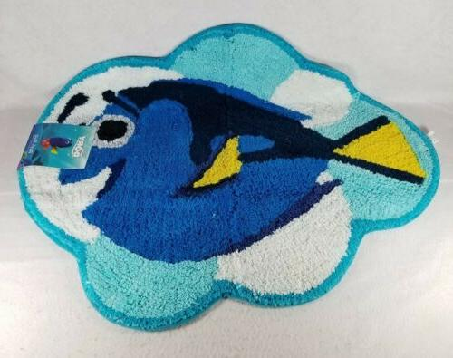 brand new finding dory cotton bath rug