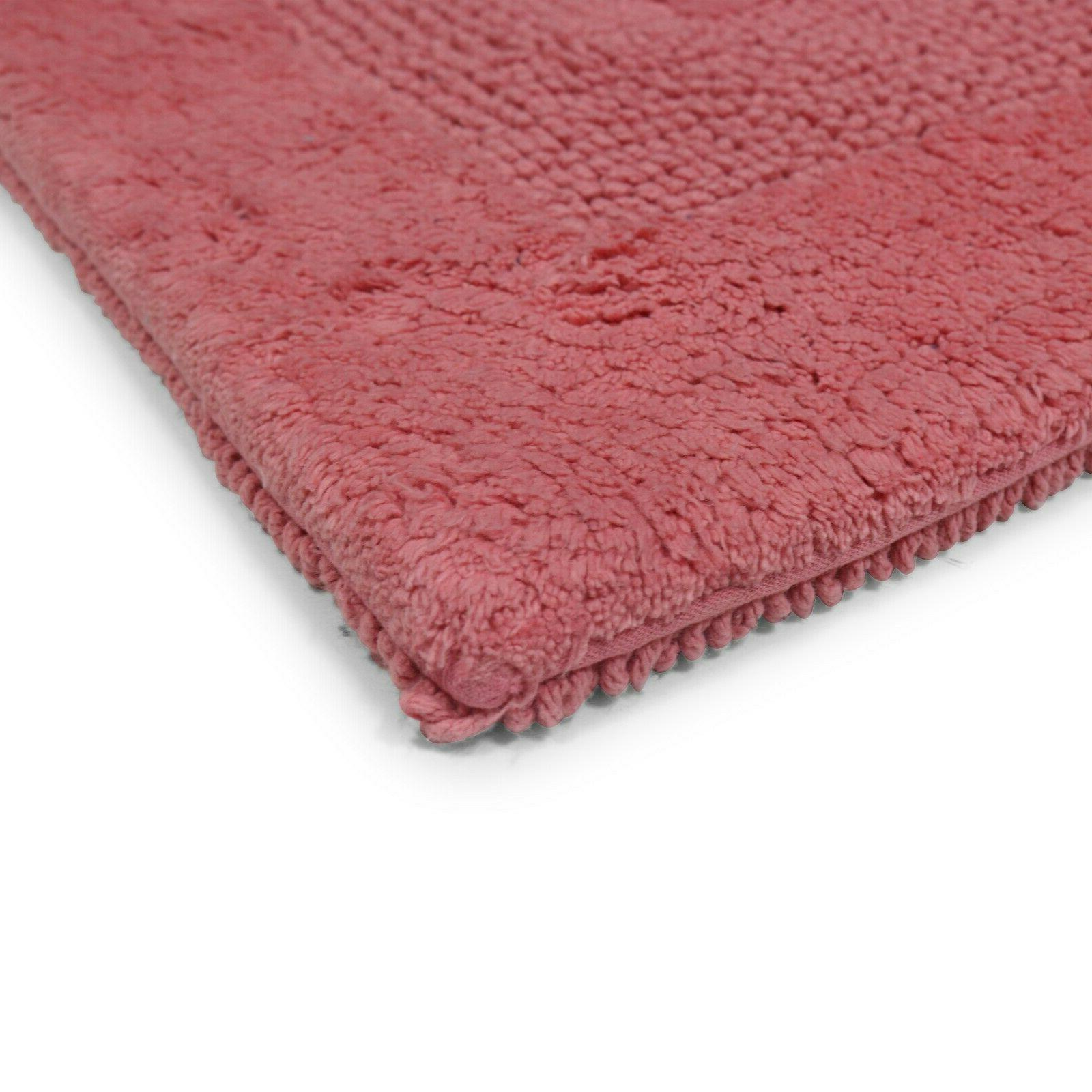 Provence Bath Rug 21 100% Cotton Soft Bathroom Mat Colors
