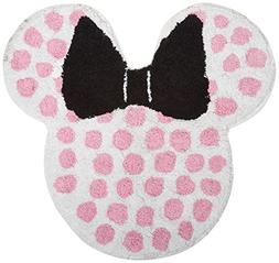Disney Minnie Mouse Classic Bath Rug, Lots of Dots