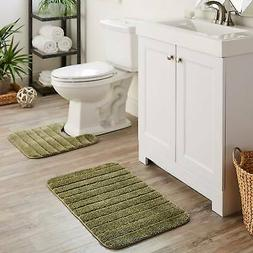 Mohawk Veranda Bath Rug Set (Set Contains1'8x2'6, 1'8x1'8