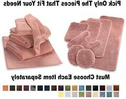 NEW Bath Rugs Bathroom Towel Sets Towels Contour Mats Rug Se