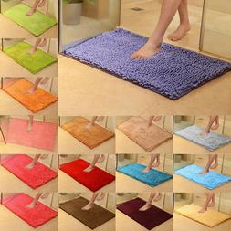 Non Slip Absorbent Bath Mat Bathroom Shower Long Microfiber