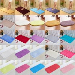 Memory Foam Non Slip Soft Bathroom Bedroom Floor Rugs Carpet