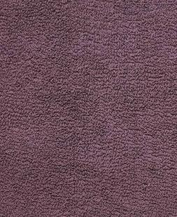 Plum Purple Reversible Cotton Bath Rug - 1-Pc
