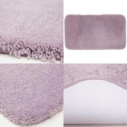 Pure Perfection Lavender 17 in. x 24 in. Nylon Bath Rug