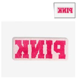 Victoria's Secret PINK Pink BATH MAT With  PINK Graphics B